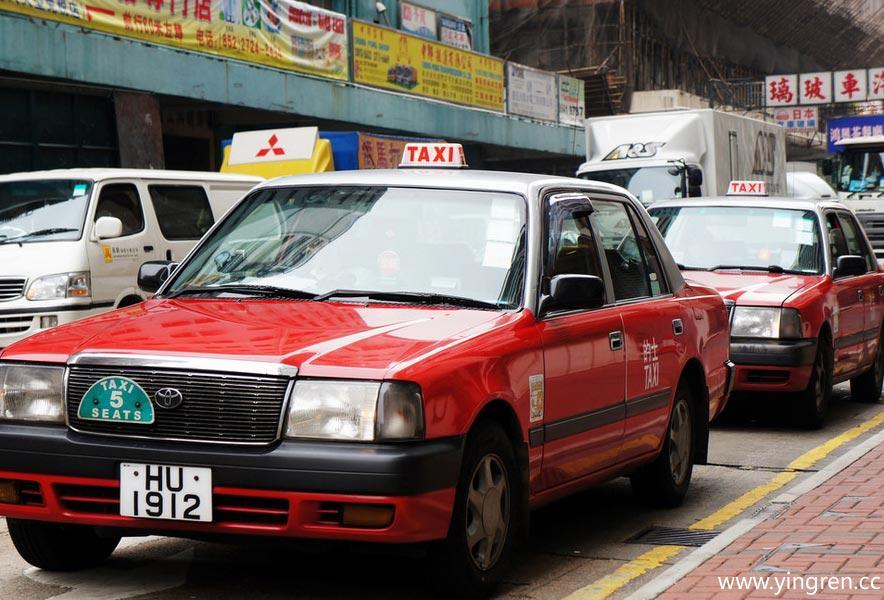 香港的士             hongkong街头等巴士的         hongkong商铺