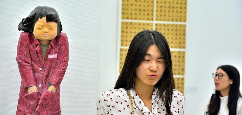 2017南艺毕业生雕像展-炊烟升起