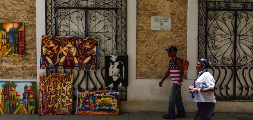 古巴街景-zhuweihua